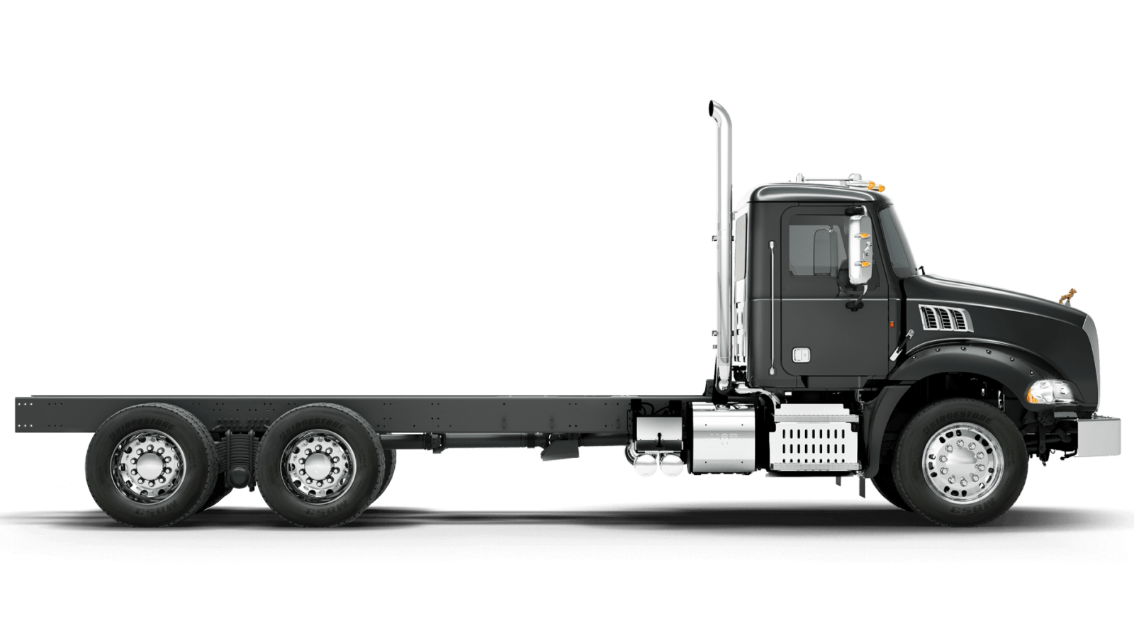 2018 MACK GU813 GRANITE RED VIPER